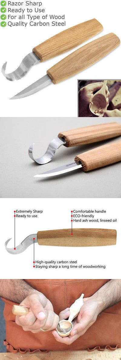 Chisels 178972: Spoon Carving Knives Top Set Woodcarving