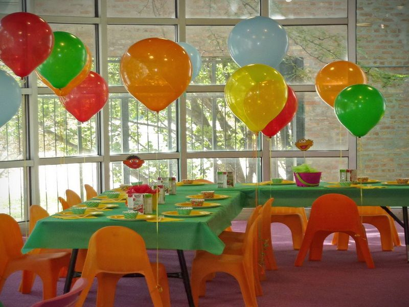 birthday party decoration ideas for kids at home