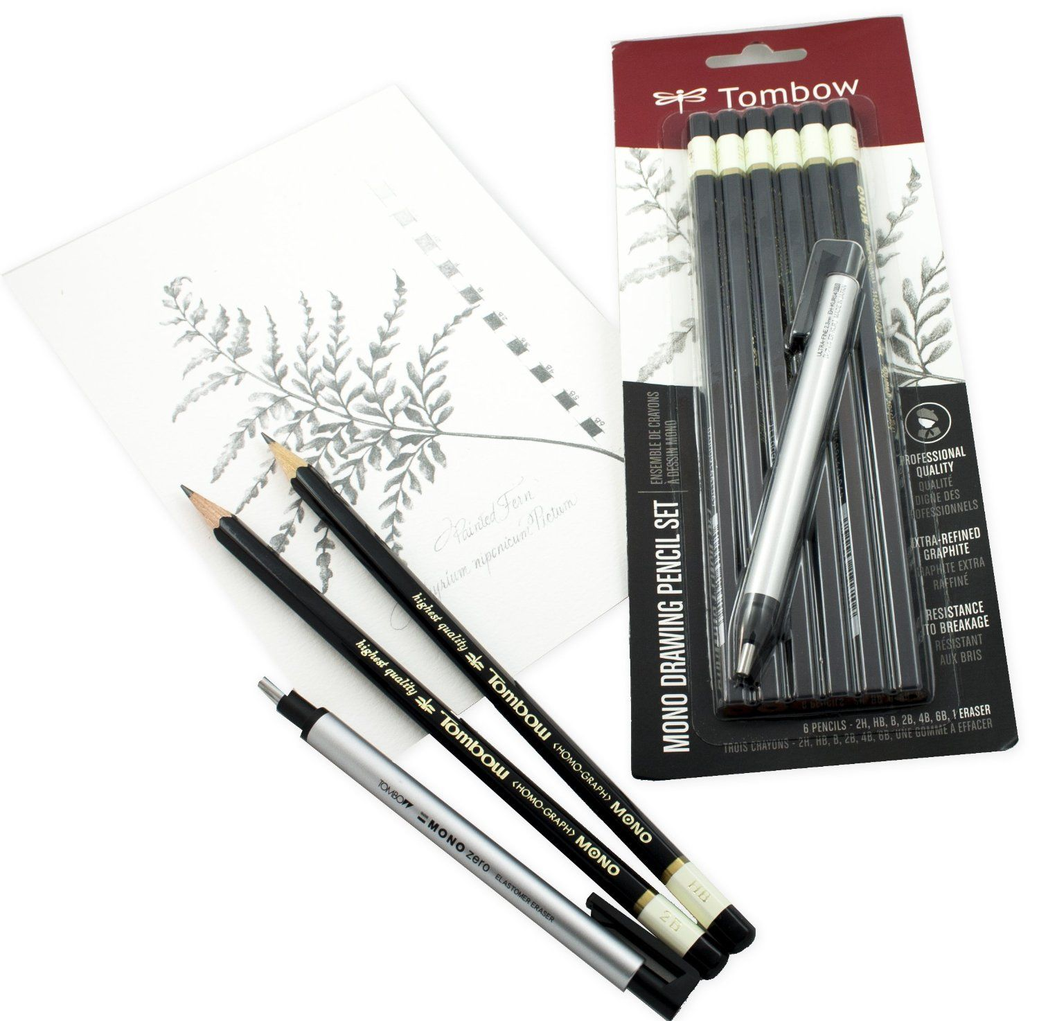 Available in a wide range of gradations tombow mono pro drawing the perfect artists pencils professional quality pencils for drawing and drafting