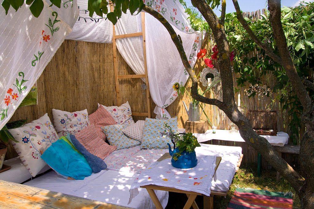 Backyard gypsy camp.