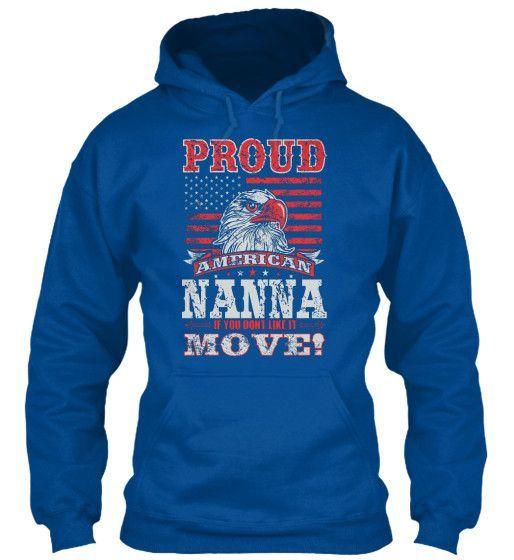 PROUD AMERICAN NANNA