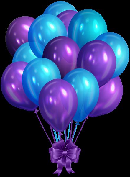 Blue Purple Bunch Of Balloons Clip Art Png Image Happy Birthday Wallpaper Purple Happy Birthday Purple Balloons
