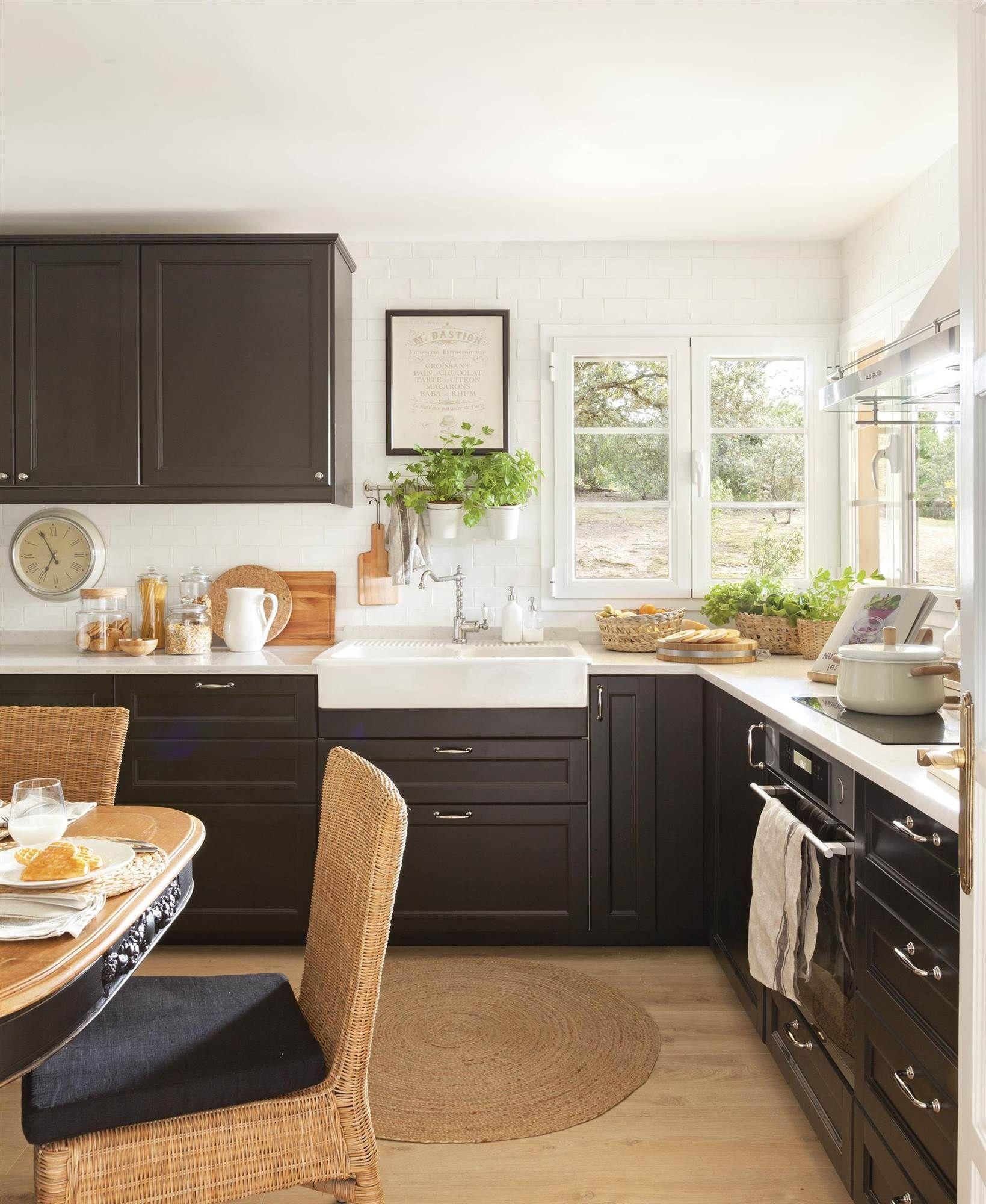Cocina Con Office Con Muebles De Color Negro Sillas De Fibras Delectable Small Office Kitchen Design Ideas 2018