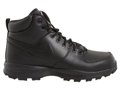 Nike Manoa Leather Black/Black/Black - Zappos.com Free Shipping BOTH Ways
