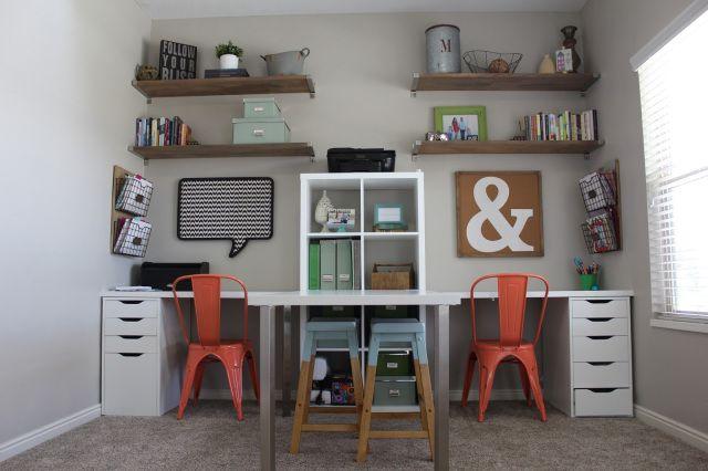 home office idea open shelving ikea desk natural wood oohlahlahdesignscom for home office ikea