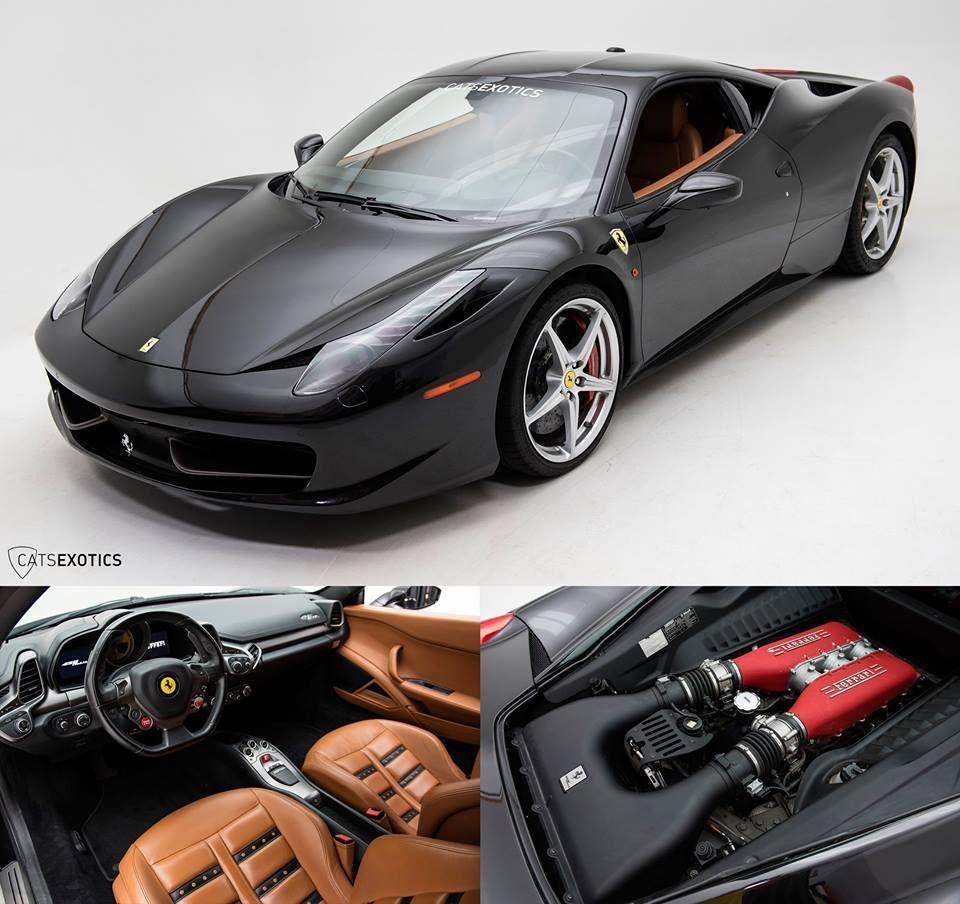 2010 Ferrari 458 Italia Exterior - Nero Daytona Interior - Brown ...