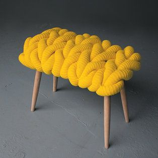 Yellow Links Stool - Products - Dwell