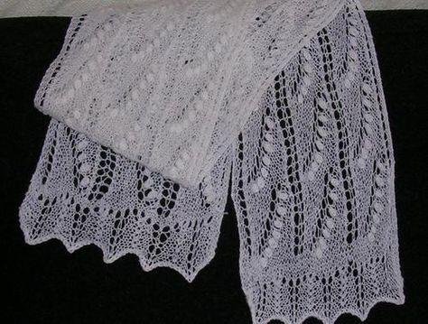 Estonian Lace Scarf Pattern Free English Pattern Download Knit