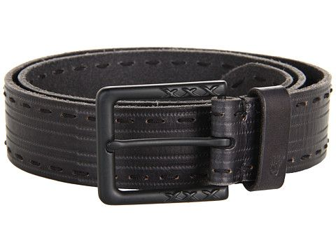 John Varvatos 39mm Harness on a Stitch Detailed Strap