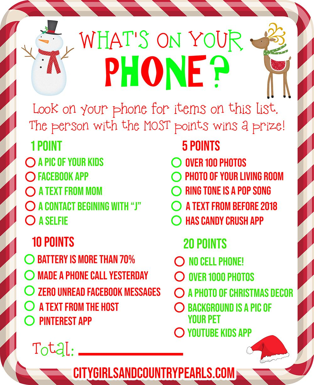 It is a photo of Printable Christmas Party Games intended for gift exchange