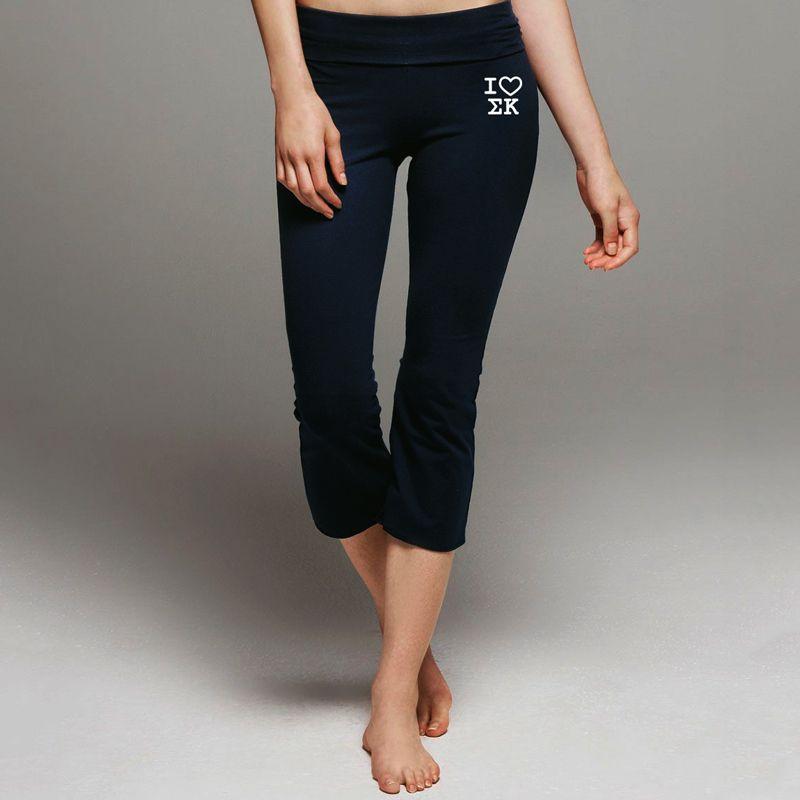 49b7b658a5 Campus Classics - Sigma Kappa Black Yoga Pants: $29.95 | sk stuff ...