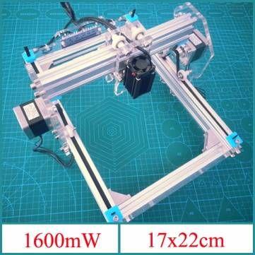 Us 236 56 26 1600mw Desktop Diy Laser Engraver Engraving Machine Picture Cnc Printer Laser Equipment From Tools Industrial Scientific On Banggood Com Grabadora Laser Impresora Grabado