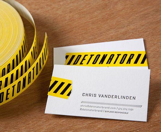 Lovely Stationery Business Card Letterpress Creative