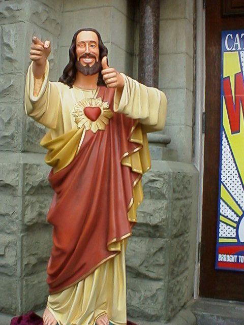 BUDDY CHRIST STATUE DASHBOARD TREIBER HERUNTERLADEN