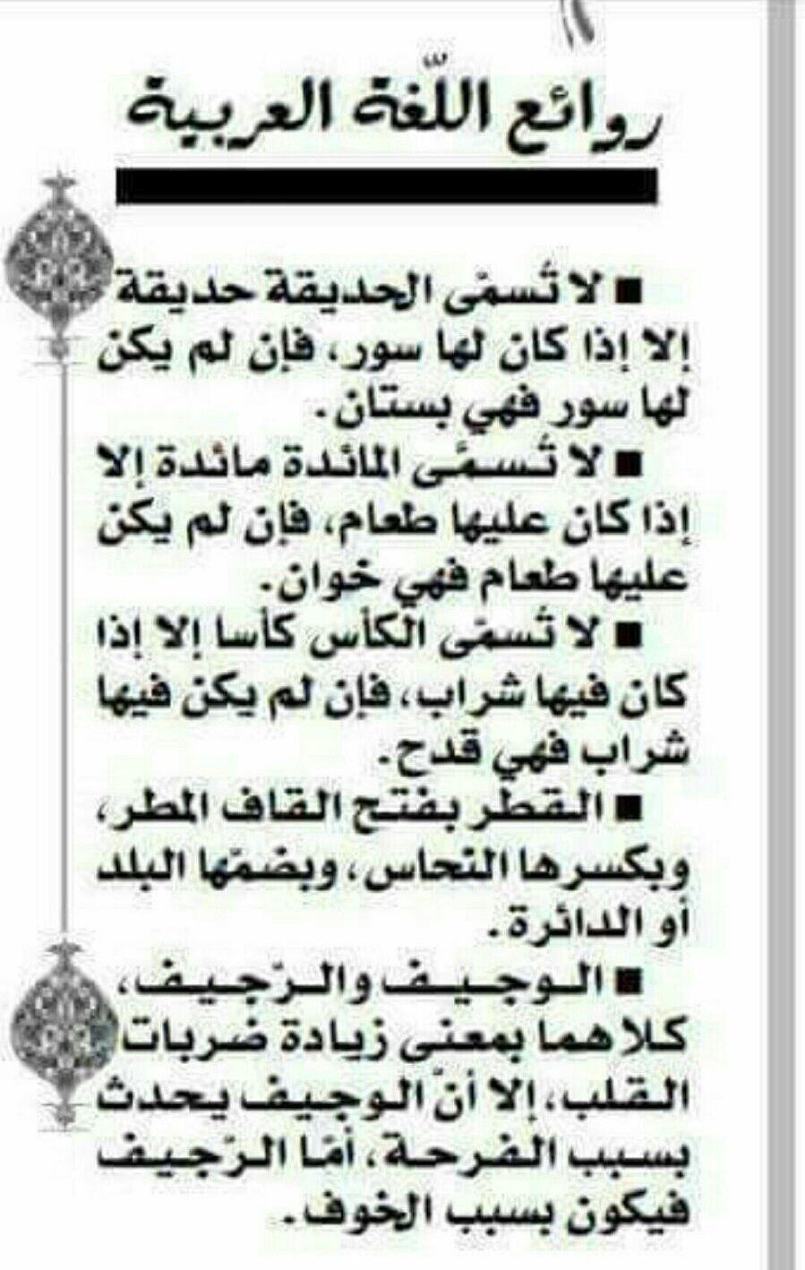 أهمية اللغة العربية Beautiful Arabic Words Learn Arabic Alphabet Learning Arabic