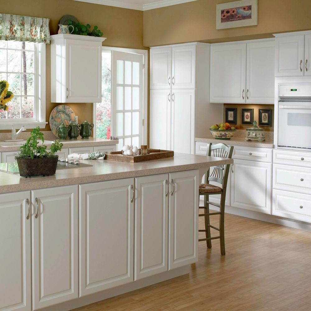 Home Decorators Collection Hallmark Assembled 24 X 84 X 24 In Pantry Utility Cabinet In Arctic White U242484 Haw Albany Flip In 2019 Hampton Bay Patio Fur