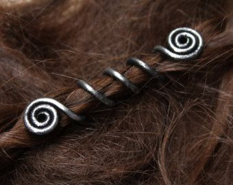 Viking Beads Gn Beard Jewelry Hair Dread Accessories