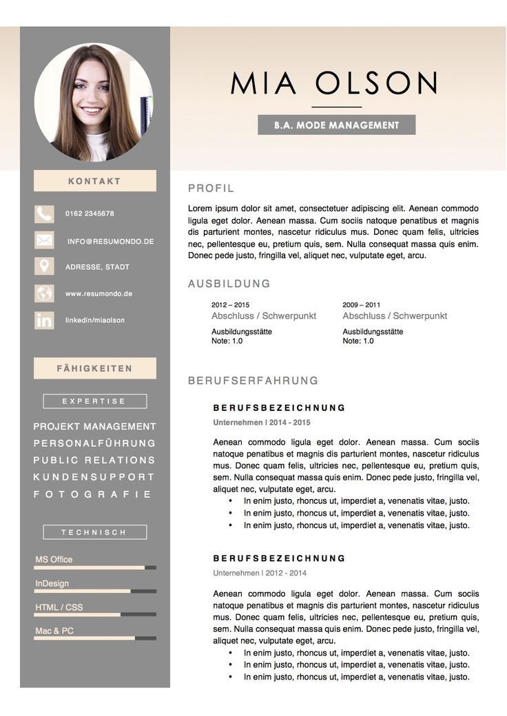 cv ingenieur word
