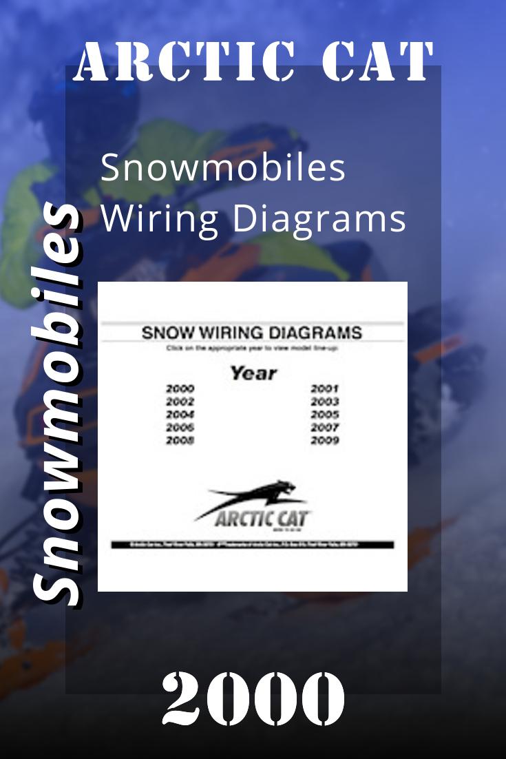 2000 Arctic Cat Snowmobiles Wiring Diagrams Snowmobile Repair Manuals Arctic