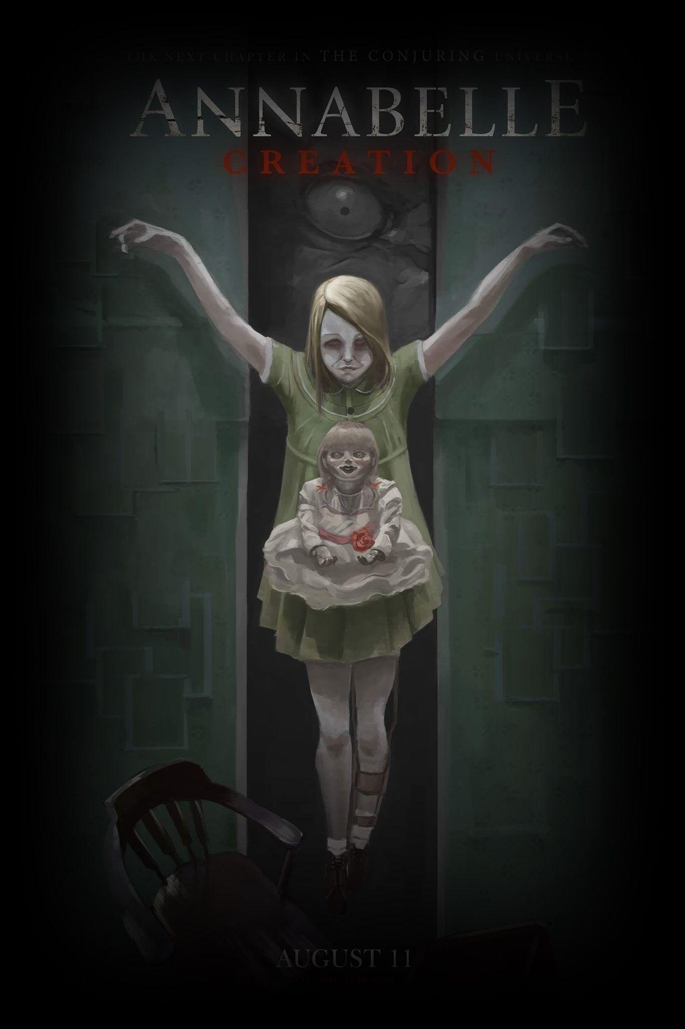 Film Magyarul Annabelle 3 2 0 1 9 Teljes Film Online Hd Horror Movie Fan Horror Movie Posters The Conjuring Annabelle