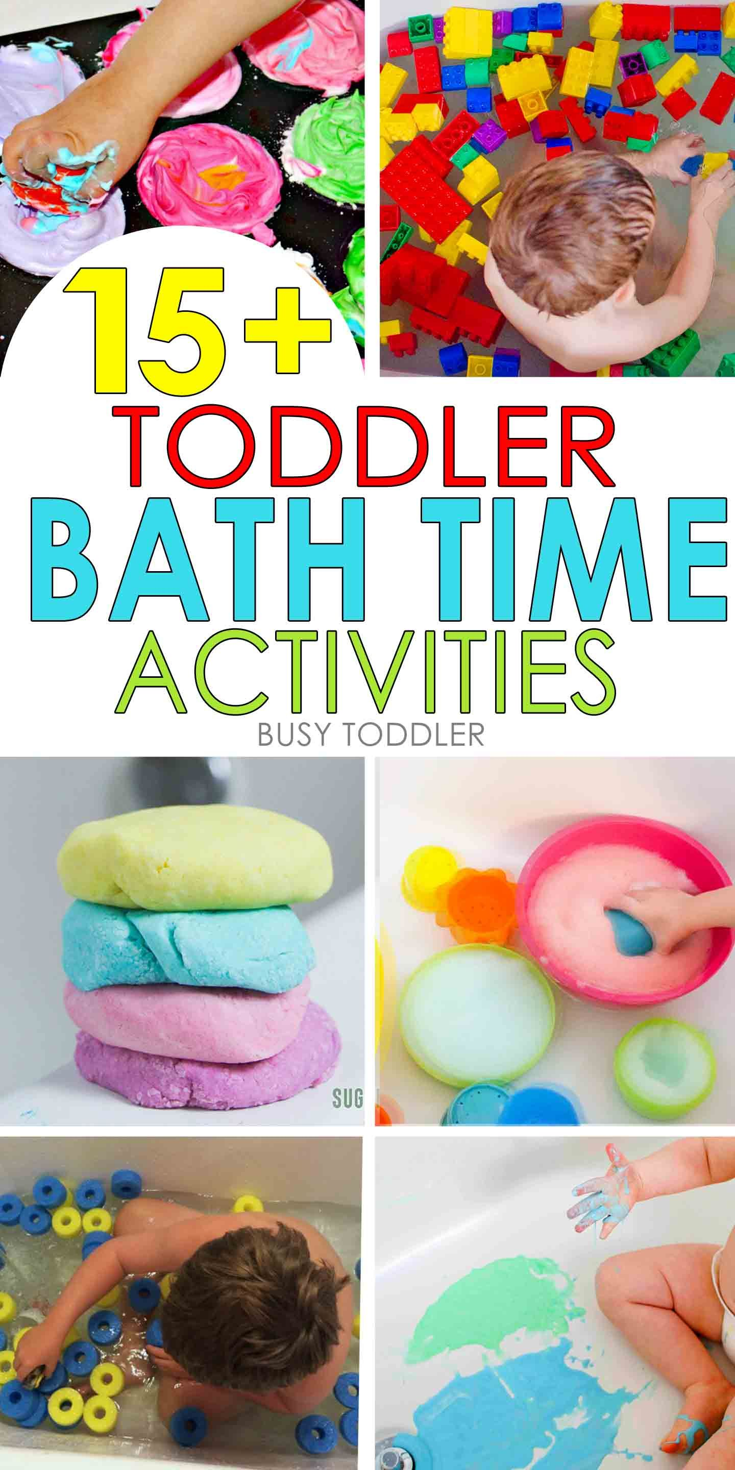 15 Toddler Bath Time Activities