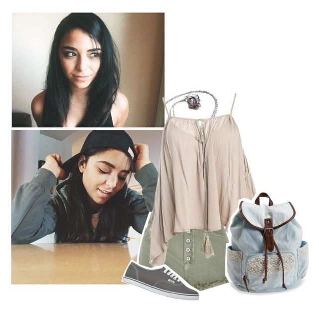 """""""I'll be crashing in the Hermes Cabin till those things leave. bye"""" by l0st-demig0ds ❤ liked on Polyvore featuring River Island, Sans Souci, Aéropostale, Vans and L0stDemig0ds"""