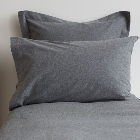 Bettwasche Aus Flanell In Grau Bettwasche Schlafen Zara Home