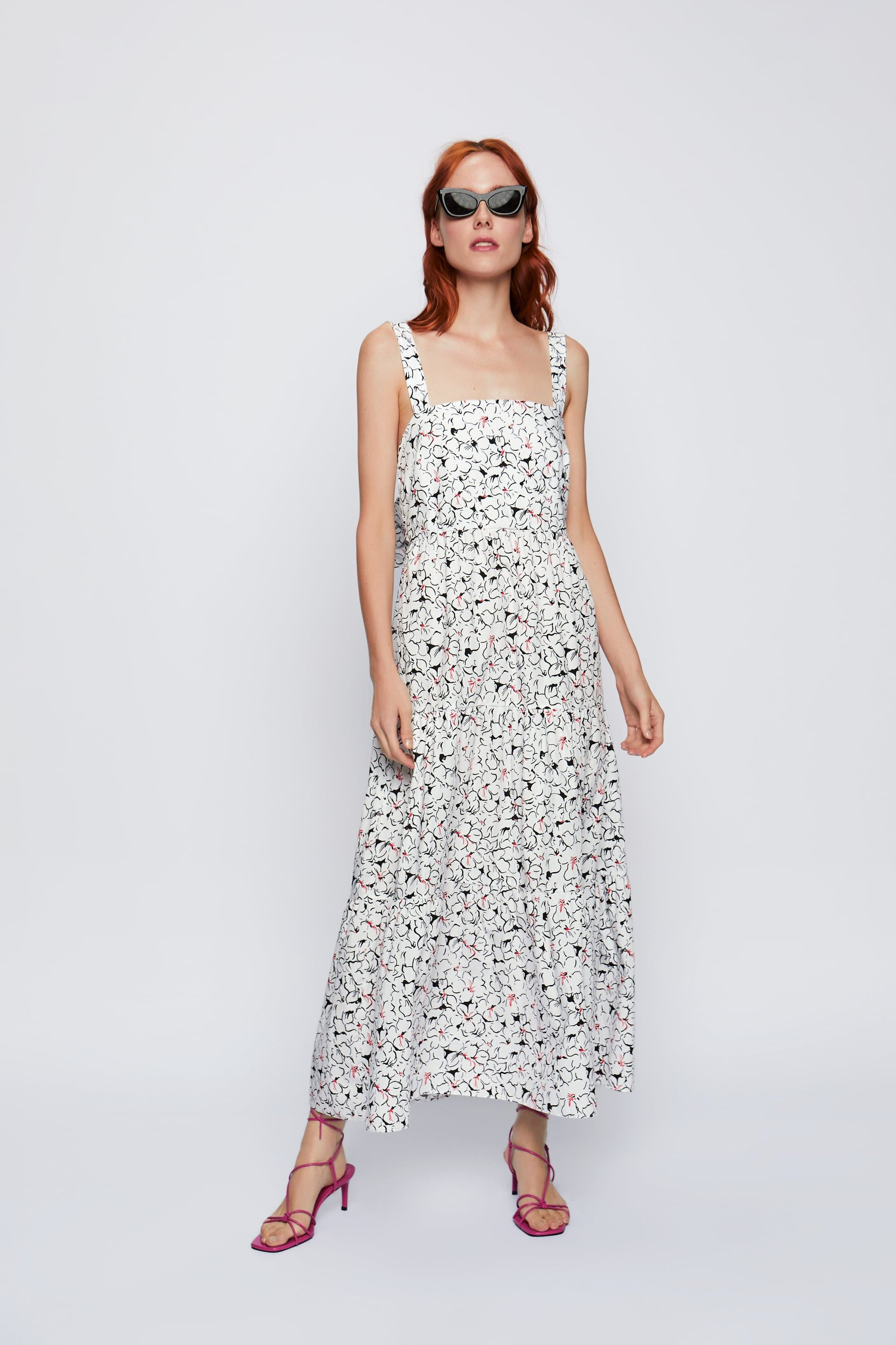 Zara S Annual Summer Sale Is Here These Are The 28 Items You Should Buy First High Fashion Street Style Print Dress Dresses [ 2880 x 1920 Pixel ]