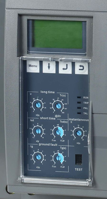 Lv Circuit Breaker Protection Settings Breakers Electrical