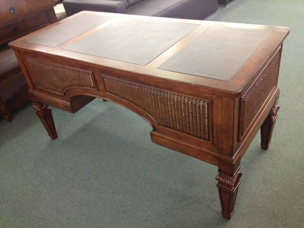 Beautiful Writing Desk With Leather Inlays Http Atlanta Craigslist Org