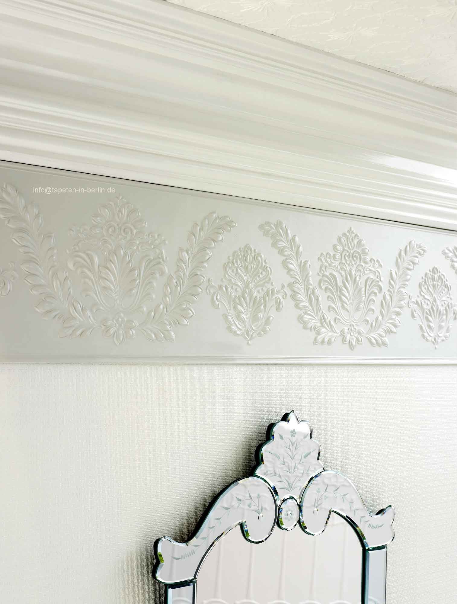 Lincrusta Stil Bordüre - Linkrusta wallpaper 1A online kaufen ...