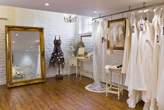 affordable & simple hanging method bridal shop peterborough : Sanyukta Shrestha Designer Day at Vow Bridal Gallery, Cambridgeshire