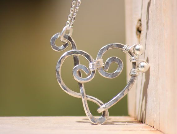 Treble clef and bass clef heart pendant necklace sterling silver or sterling silver treble clef and bass clef heart pendant necklace via etsy aloadofball Images