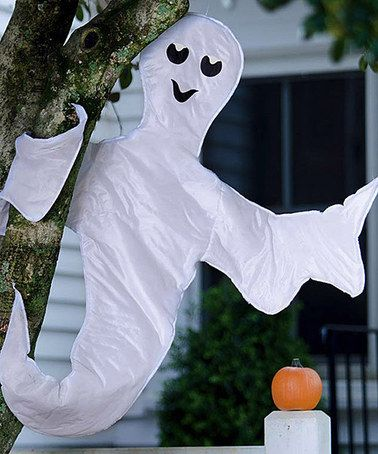 Peek-a-Boo Ghost Holiday Décor Boo ghost, Halloween tricks and - halloween ghost decor