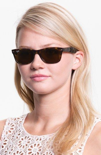 35afe17657d5 Ray-Ban 'New Small Wayfarer' 51mm Sunglasses (Nordstrom Exclusive Colors) |  Nordstrom