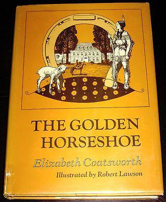 The Golden Horseshoe By Elizabeth Coatsworth Illus Robert Lawson