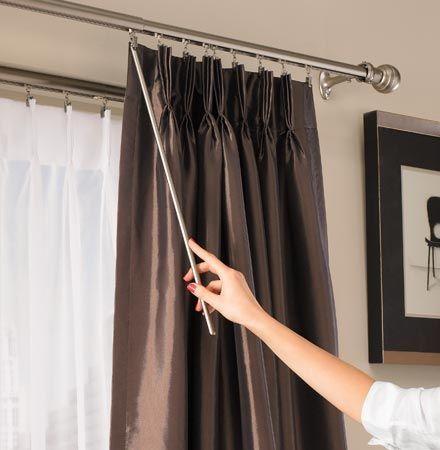 hanging curtain rods drapery hardware