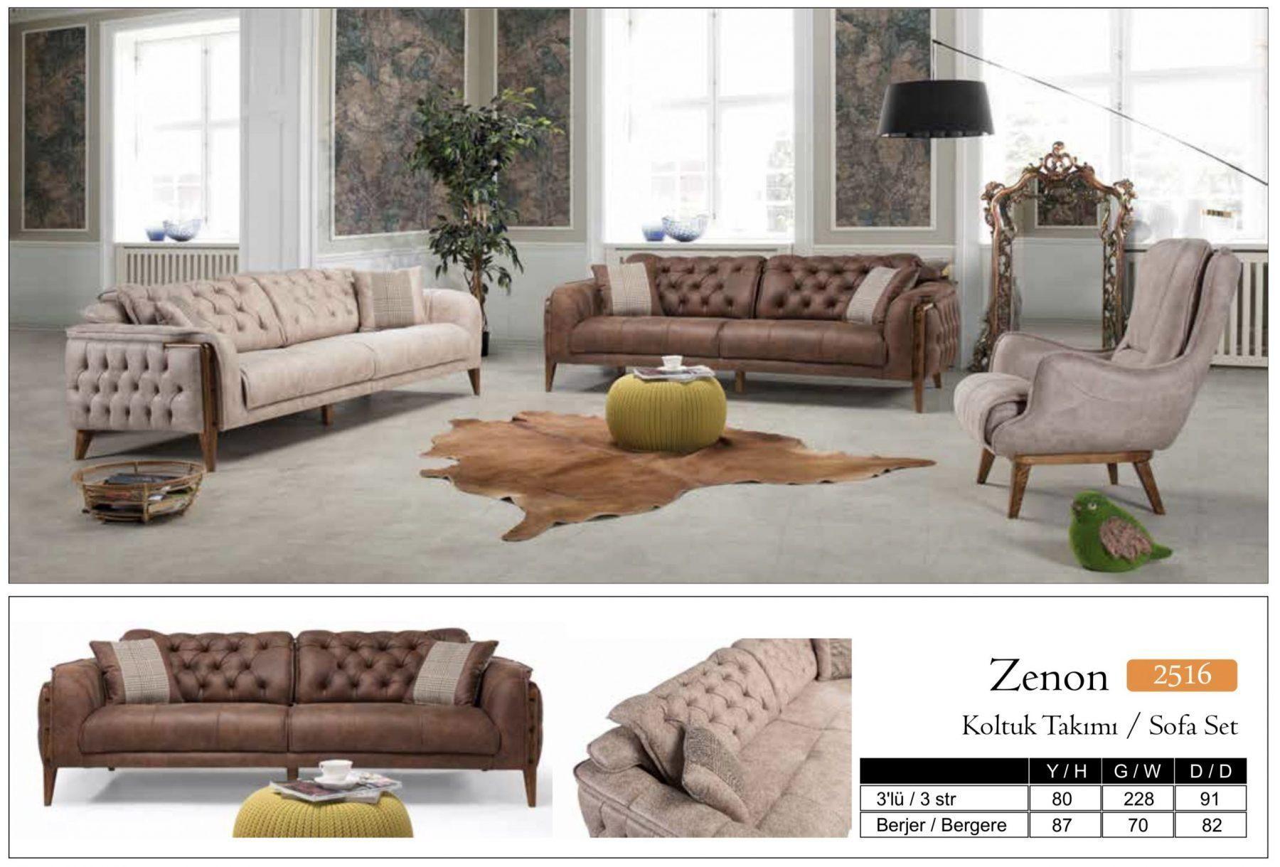 Godina Zenon 2516 Living Room Sofa Set Home Furniture Wholesale Export Turkey Yeniexpo B2b Turkey Wholesale Marketplace