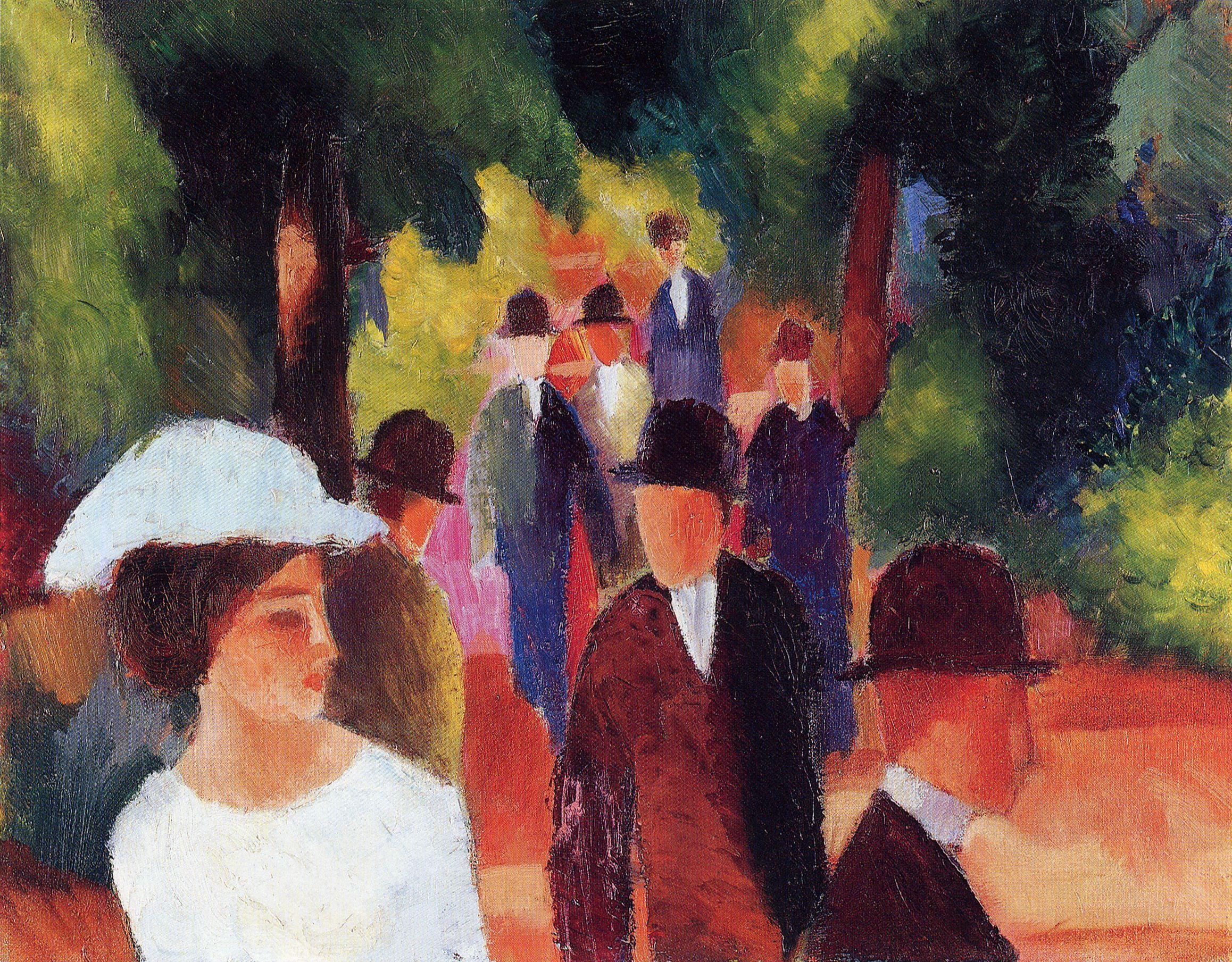 August Macke - Promenade (1914)