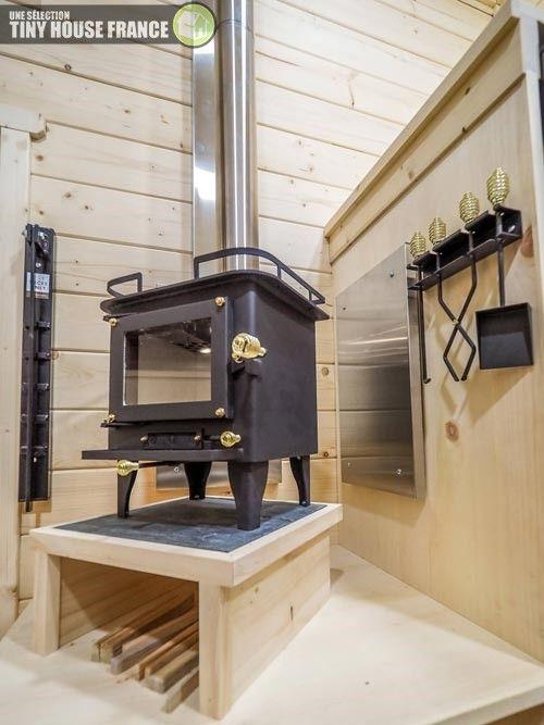 Crow Tiny House Plans De Maisonnette Maison Mini Poêle