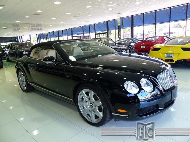 Bid on or buy this lightly used 2008 Bentley Continental by visiting: http://www.ftlauderdalecollection.com/detail-2008-bentley-continental_gt-2dr_conv-used-11279252.html This Bentley is in exceptional condition, and it runs and drives like a new car. It should - it has about 13,000 miles on it. This one has a classic Bentley color combination - Beluga Paint with a Magnolia Interior - beautiful.