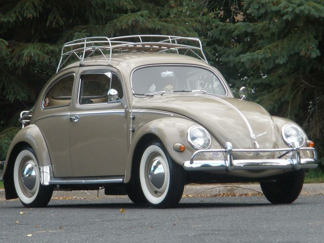 1956 Beetle Vw Beetle Classic Vintage Volkswagen Classic Cars