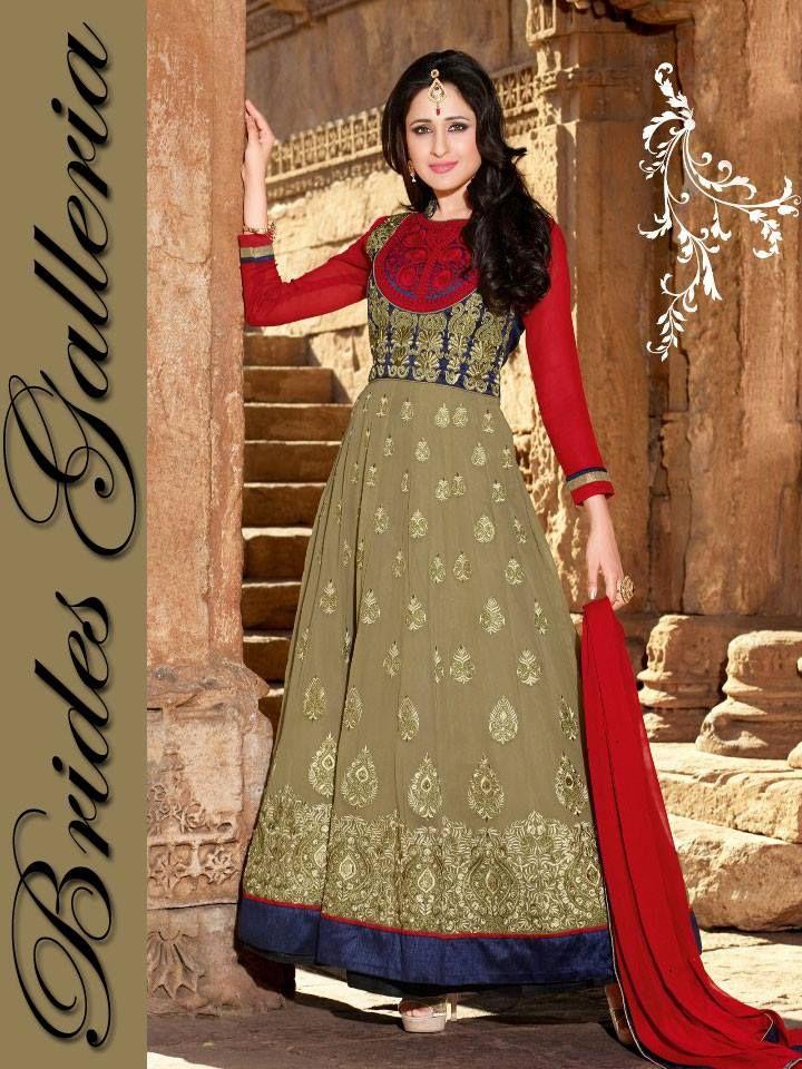 Brides Galleria Eid Wear Anarkali Frocks Designs, anarkali dresses