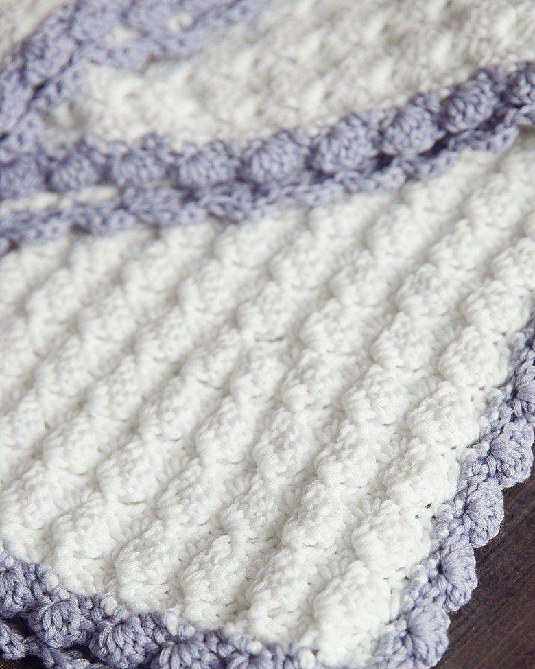 Vintage Chic Free Crochet Baby Blanket Pattern - Leelee KnitsLeelee ...