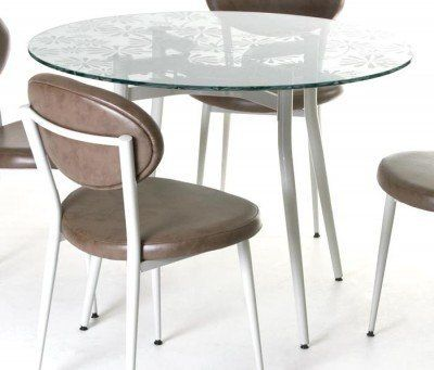 Amisco Anais Dining Table by Amisco. $236.00. The Anais Dining Table offers up a stylish contemporary design perfect for any kitchen, home dining area, or other casual dining space. It's the ideal choice for your casual dining environment or breakfast nook. Built by industry leader, Amisco, this dining table features a durable construction and seasoned intelligent designing. These pieces are available in a wide variety of finish options. Set a bold new trend in yo...