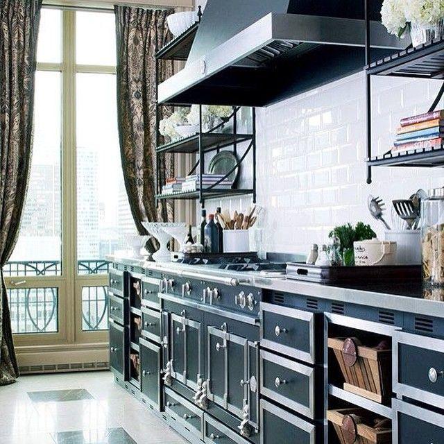 """@mrshgomes's photo: """"Masculine kitchen design #masculine #kitchens #kitchenstyle #kitchendesign #interiordesign #interiordecor"""""""