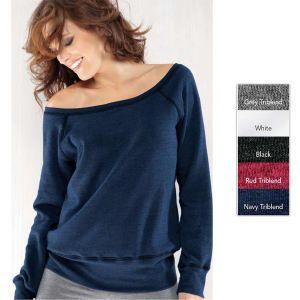 Ladies slouchy sweatshirt  http://www.schoolspiritstore.com/