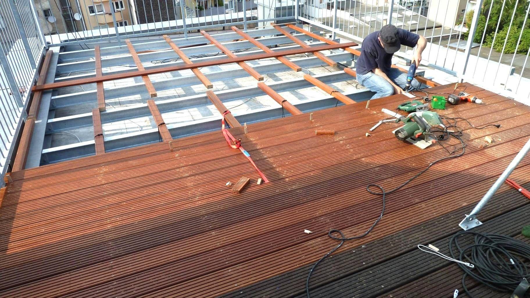 Oberteil 45 Zum Terrasse Holz Unterkonstruktion Bauanleitung Terrasse Holz Terrassendielen Unterkonstruktion