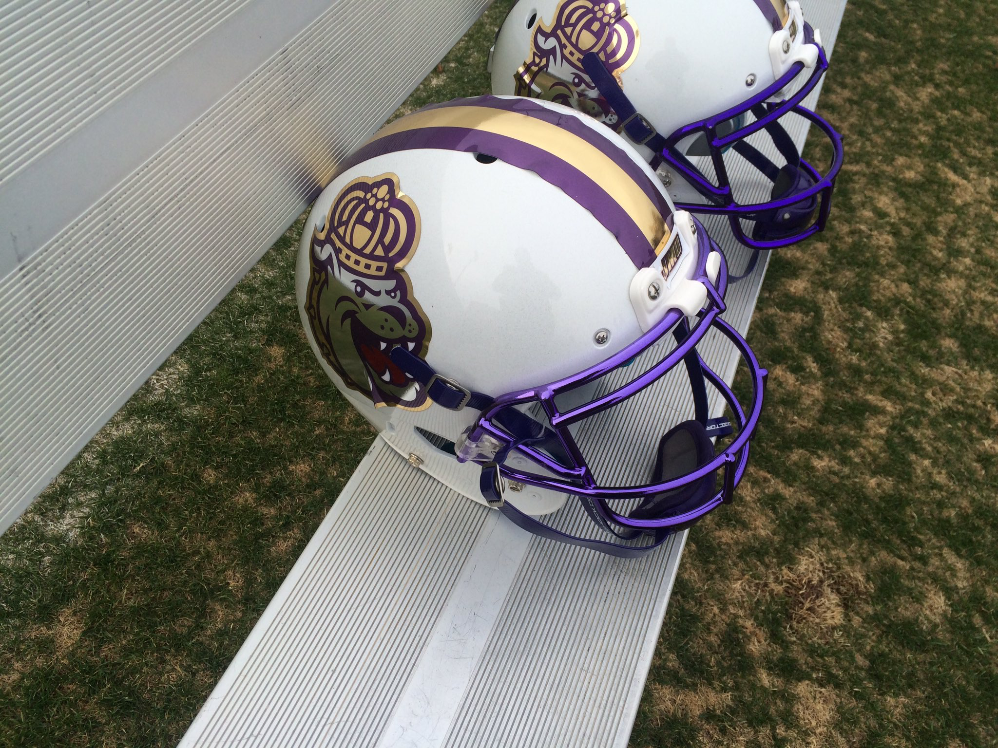 Slight Tweak To The Logo The Crown Is Now Gold For The Helmets