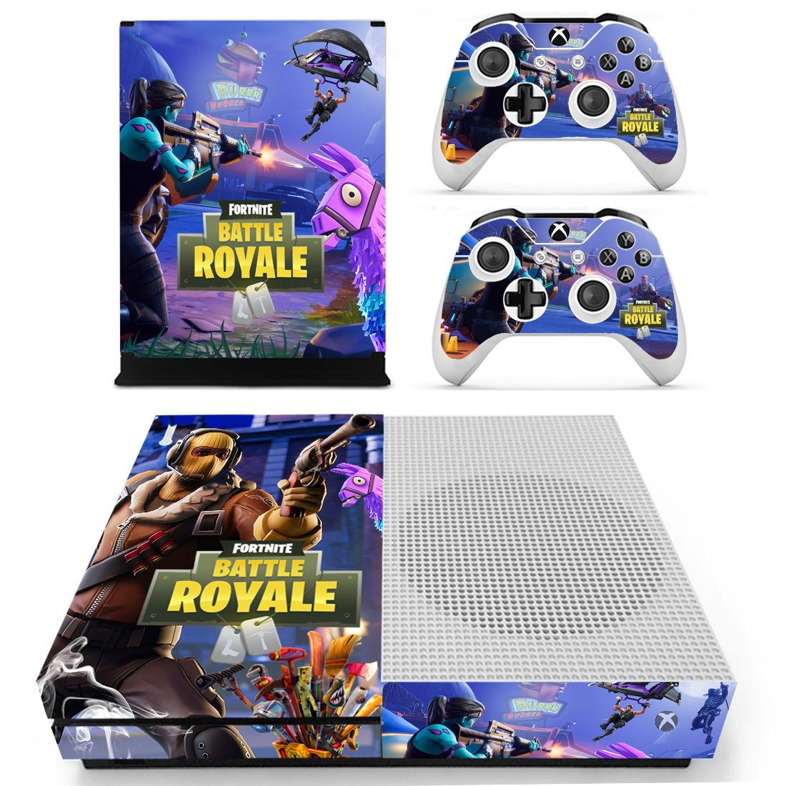 Fortnite Xbox One S Skin Decal For Console And 2 Controllers